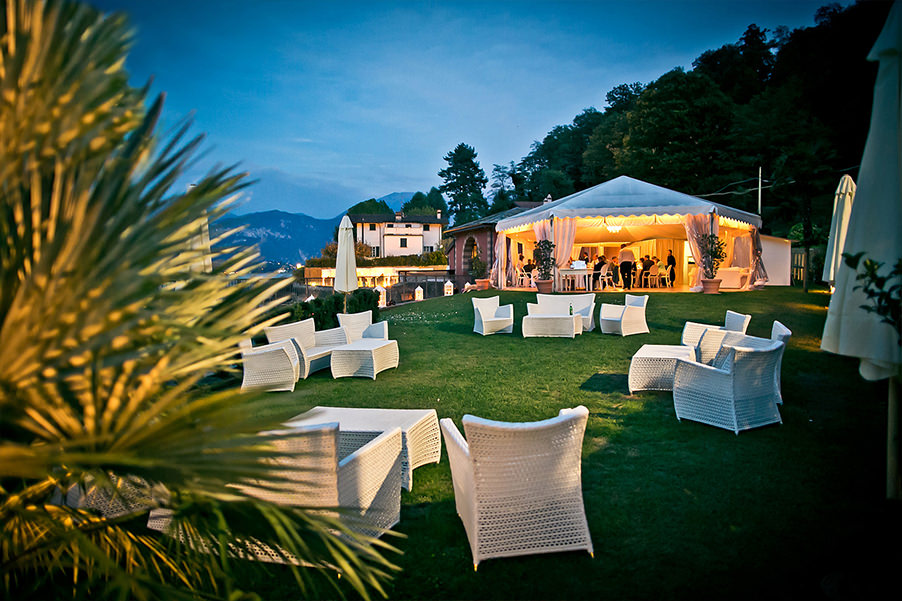 lake como villa wedding