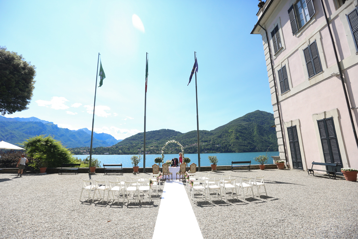 lake como wedding venues cost