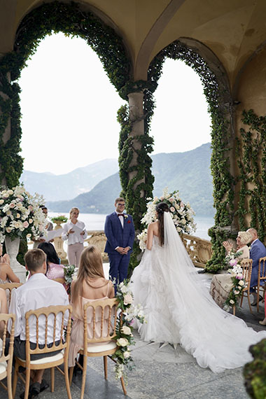 Wedding in Italy. Wedding on Lake Como